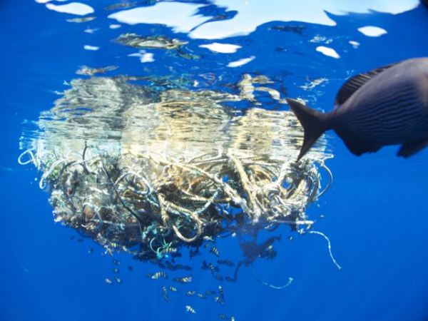Trash in the Pacific