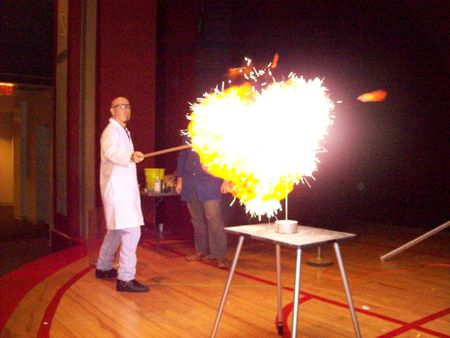 science explosion